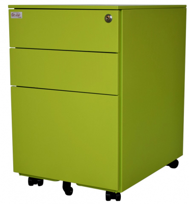 Jet-Line Office Roller-Container, green