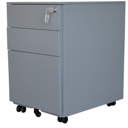 Jet-Line Office Roller-Container, gray