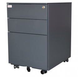 Jet-Line Office Roller-Container, anthracite