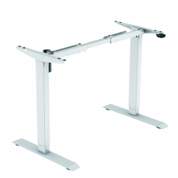 Motorized frame BASIC for height-adjustable desk, white